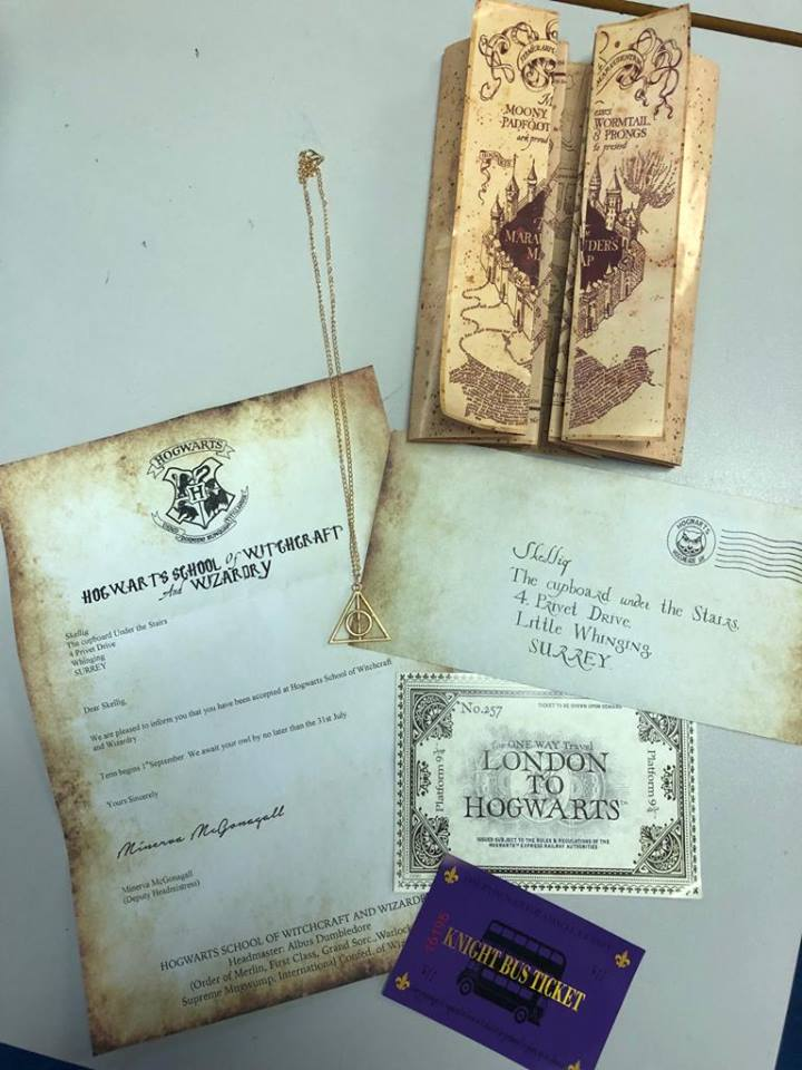 A letter from Hogwarts | Middle Park Primary School